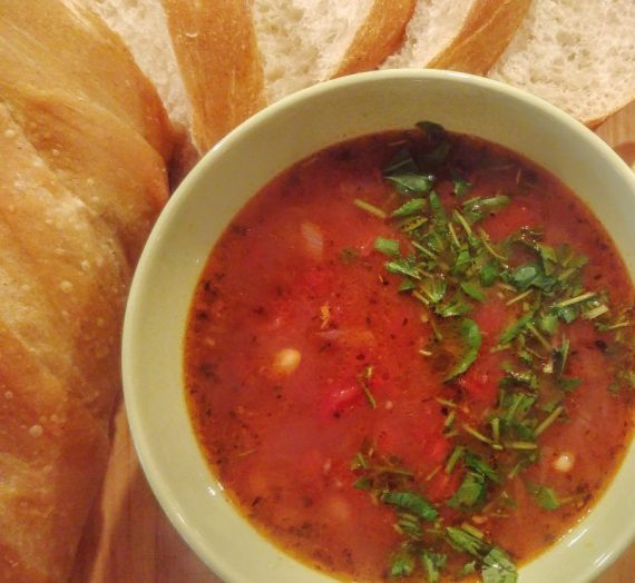 Aštri maltos jautienos sriuba su pupelėmis