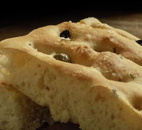 Laimingos duonutės receptas: focaccia